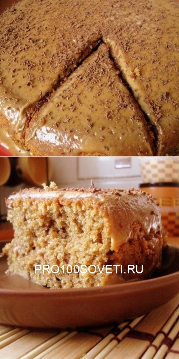 Кофейный пирог Из того, что есть в холодильнике