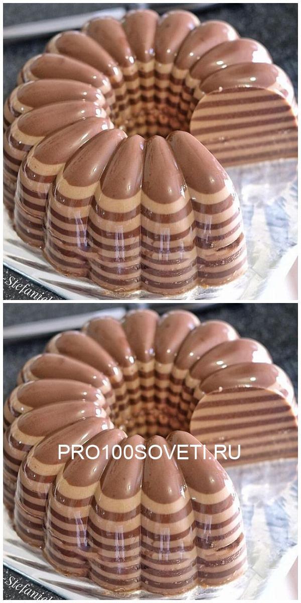 Шоколадно-кофейный пудинг — десерт королей!