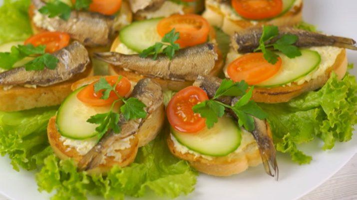 Три вида самых легких и вкусных закусок на праздничный стол