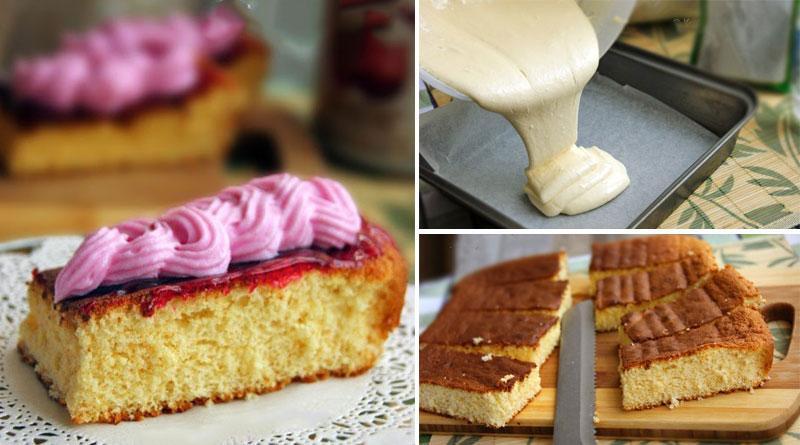 Торт «5 ложек». Настолько прост, что запоминается с первого раза