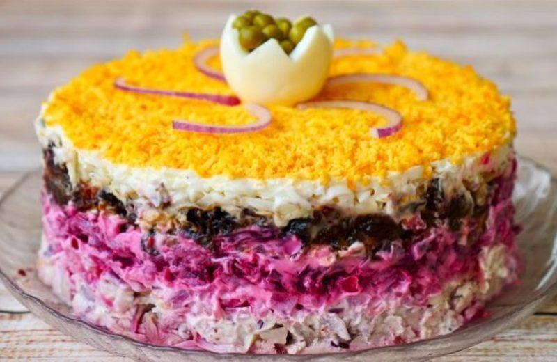 Праздничный салат «Граф». Конкурент всем традиционным салатам