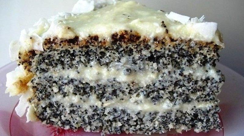 Изумительный пирог «Блаженство». Для любителей выпечки с маком