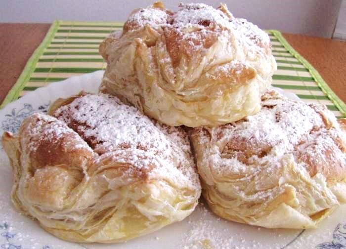 Пирожное «Ленинградское». Очень нежное и вкусное