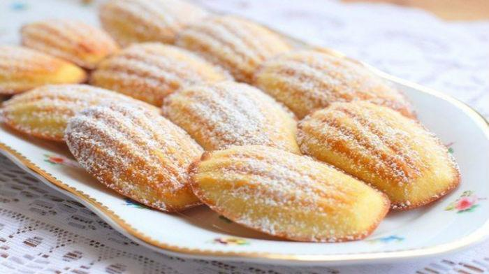 Вкусное печенье «Мадлен». Готовить очень просто!