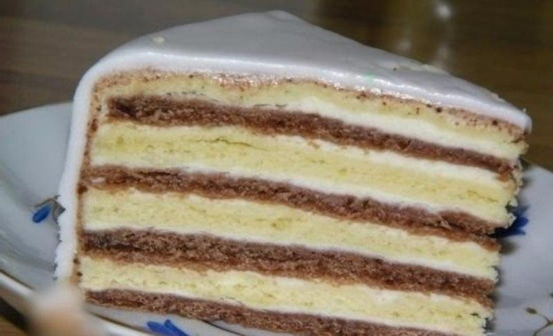Сметанный торт «Мишка на севере». Очень нежный и вкусный