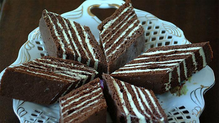 Пирожные «Нутелла». Они очень вкусные, все непременно их оценят