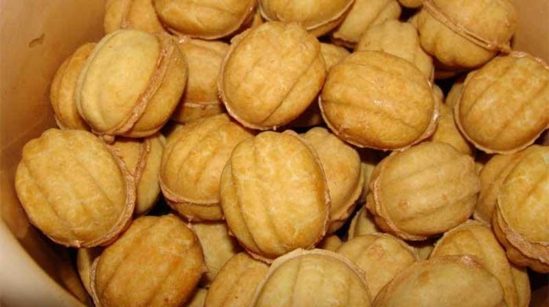 Печенье «Орешки». Очень любимые с детства
