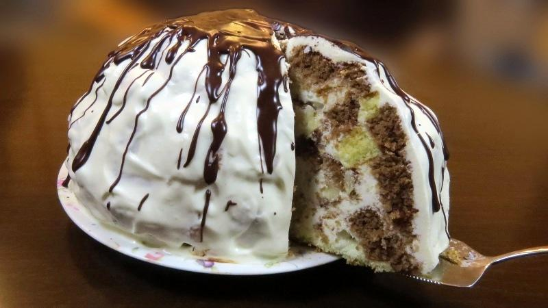 Торт «Панчо ленивый» без выпечки