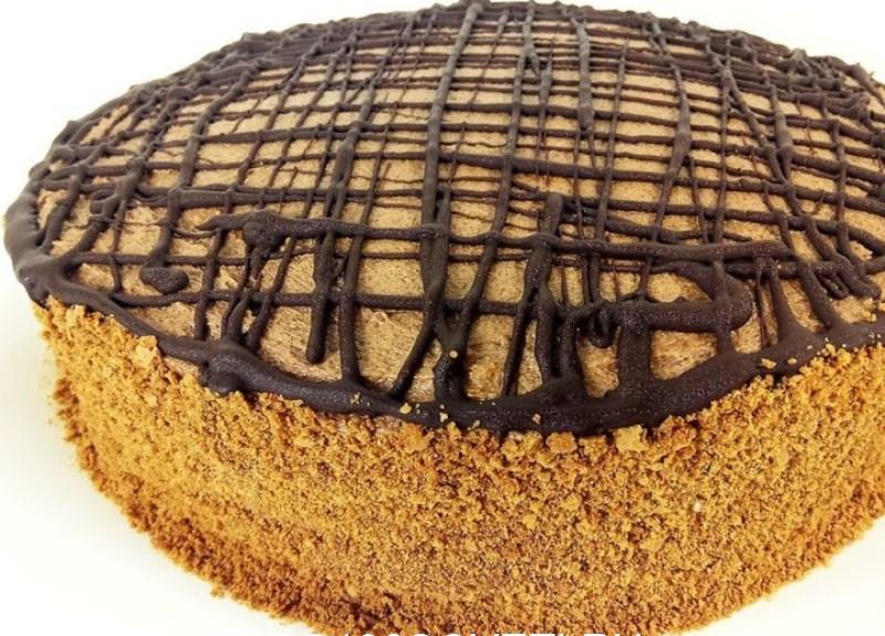 """Торт """"Пражский"""" на скорую руку"""
