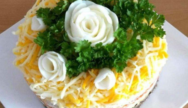 Обалденный салат «Шаланда». Вкусно и оригинально!