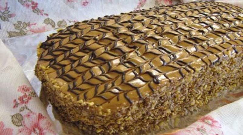 Торт «Семистаканник». Нежный, воздушный и очень вкусный