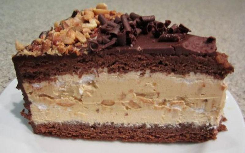 Торт «Сникерс». Самый лучший рецепт