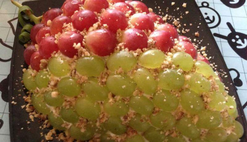 Красочный и безумно вкусный салат «Тиффани»