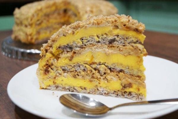 Любимый торт «Египетский». Готовлю каждый месяц