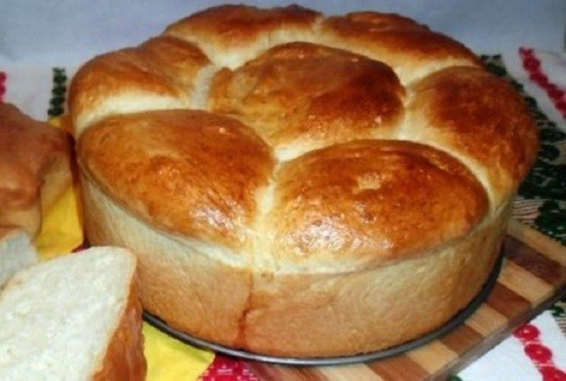Домашний хлеб на кефире. Мягкий и пушистый