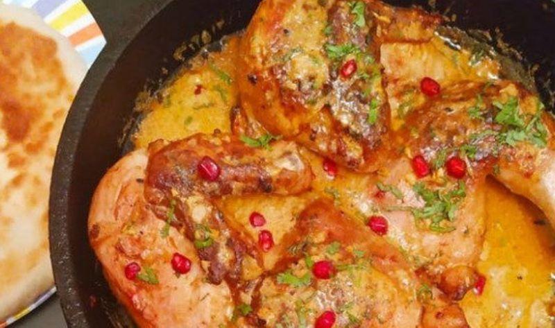 Шикарное блюдо из курицы с чесноком