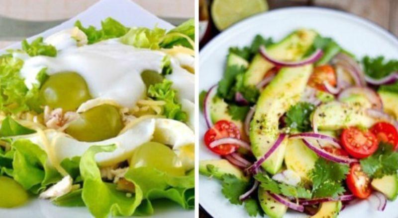 Подборка легких и вкусных салатов