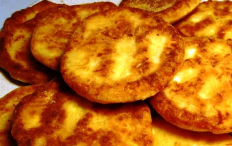 Гречневая лепешка с сыром