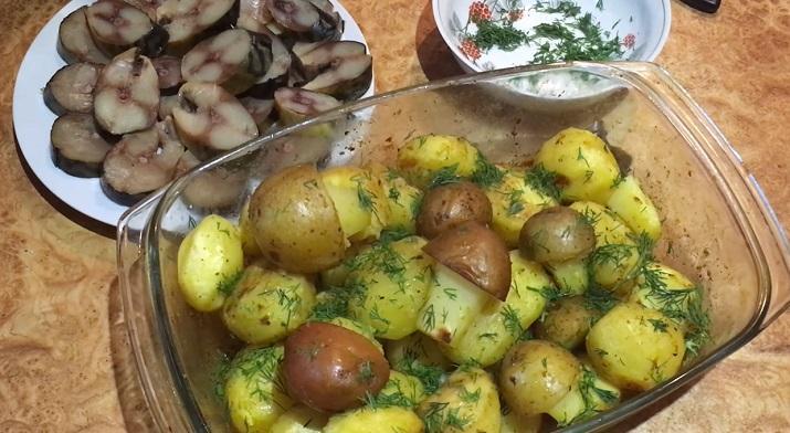 Самый лучший и ароматный картофель. Просто объедение