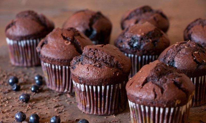 Очаровательные шоколадные маффины