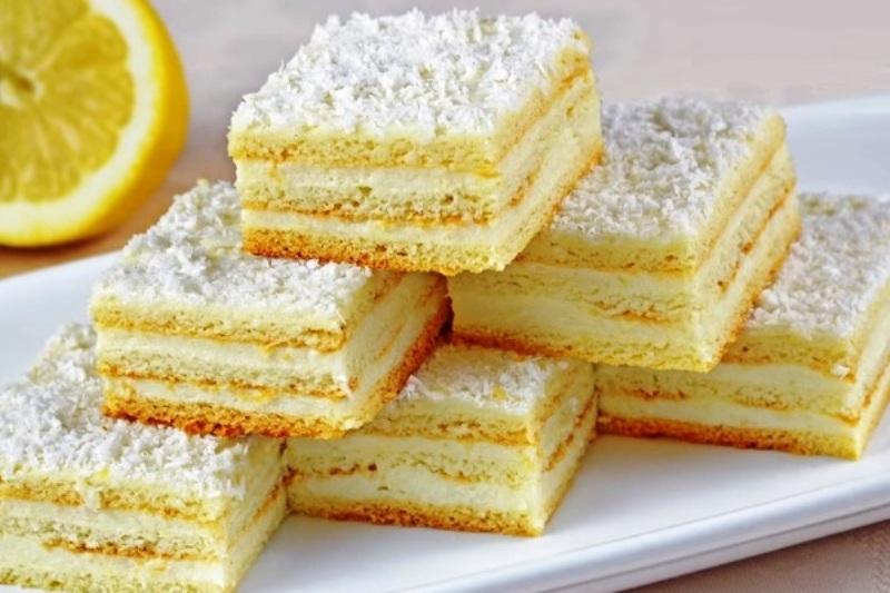 Лимонный пирог. Вкуснейшая выпечка