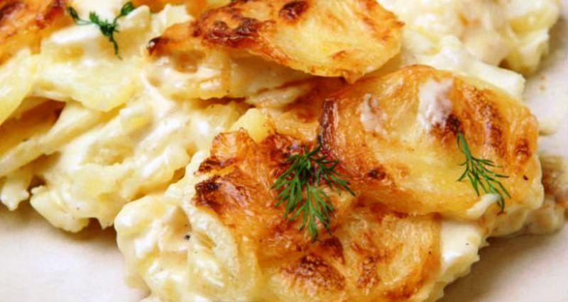Картофель по-французски «Дофине». Отменное блюдо