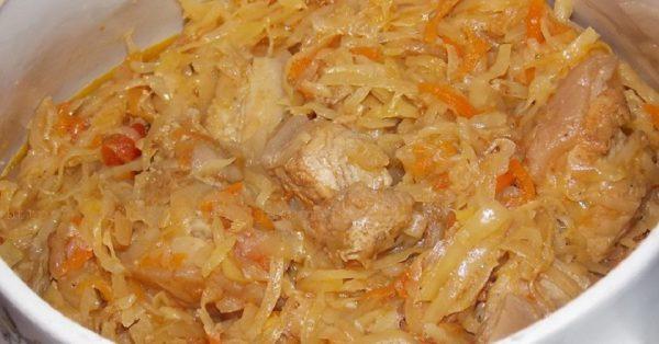 Вкусные блюда из капусты. Бигус по польски