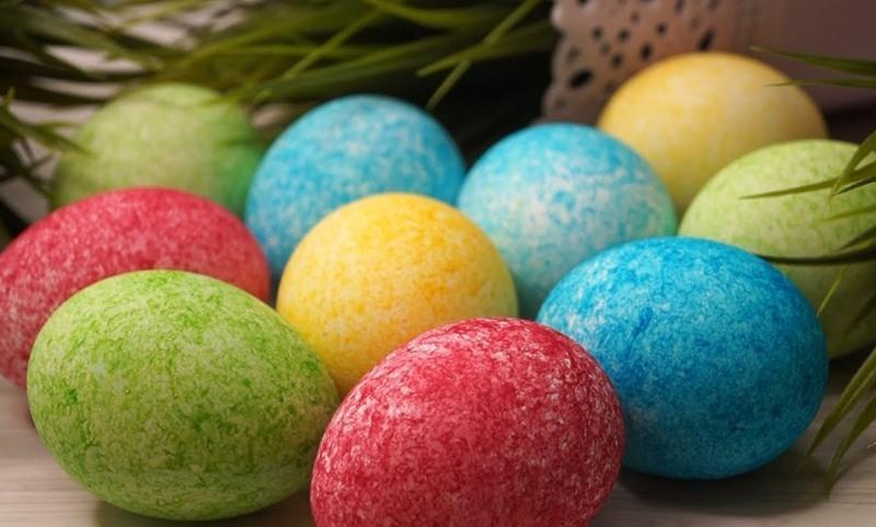 Красивые и необычные яйца на пасху