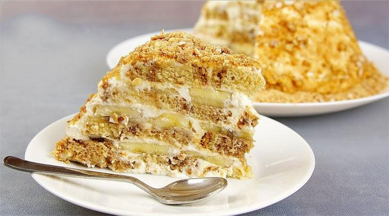 На приготовление этого торта понадобится 3 ингредиента и 15 минут