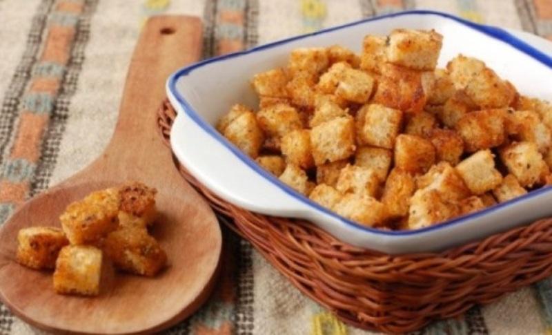 Секреты приготовления вкусных домашних сухариков
