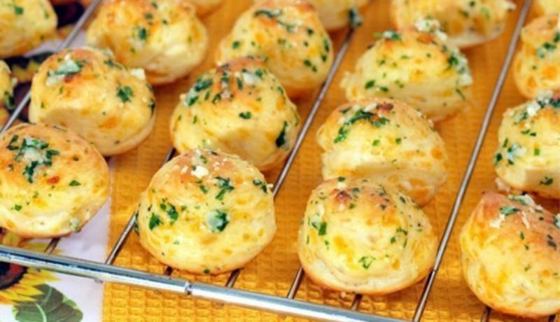 Очень вкусные гужеры с сыром. Подаю вместо хлеба