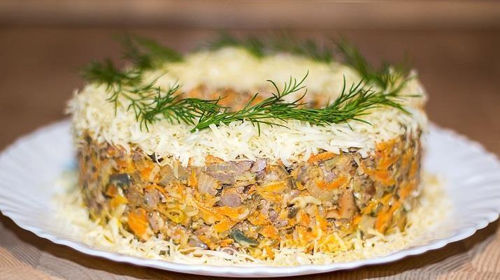 Отличный салат «Довольный муж». Вас будут носить на руках