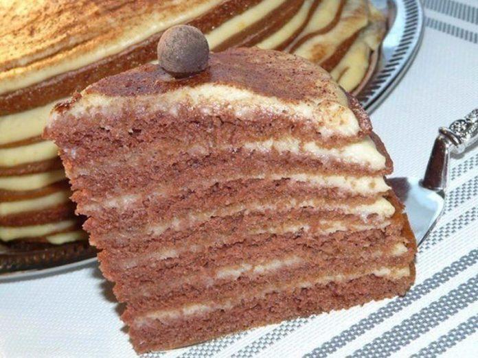 Очень вкусный и простой в приготовлении торт