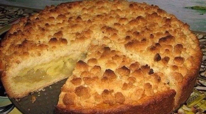 Царский яблочный пирог. Потрясающе вкусный