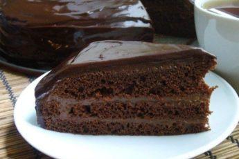 Быстрый шоколадный торт! Этому рецепту очень много лет!
