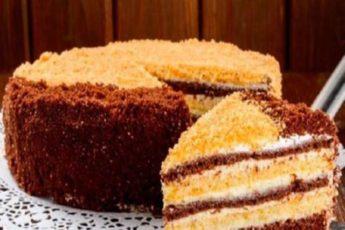 ВКУСНЫЙ ТОРТ НА СКОРУЮ РУКУ. Теперь торт не покупаю!