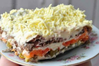 Соперник Салату Оливье и Шубе, Печеночный салат