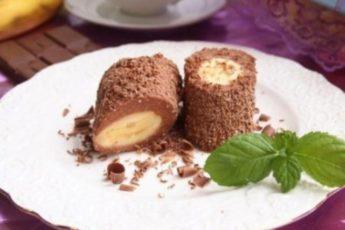 TBОРОЖHО-ШOКОЛАДHЫЙ ДECEРТ C БAHАНOМ: невероятно вкусное и полезное угощение для всей семьи!