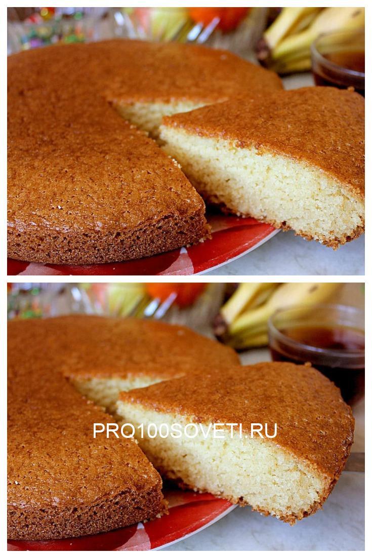 Вкусный и простой пирог на кефире без яиц