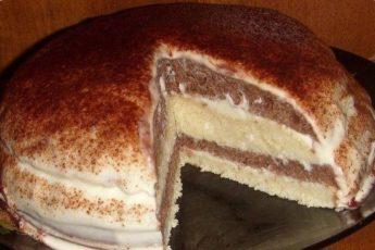 Девочки))) урааа... нашла простой рецепт очень нежного и вкусного тортика на кефире!
