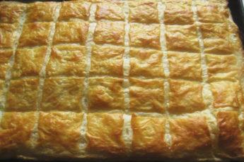 Рецепт потрясающего быстрого слоеного пирога. По вкусу, как хачапури 1
