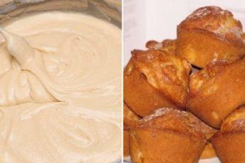 Рецепт самых нежных и воздушных кексов на сметане за 20 минут 1