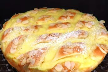 Рецепт восхитительного пирога с заварным кремом. Тает во рту 1